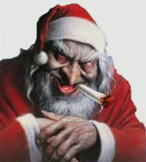 Twisted santa